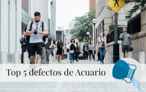 Top 5 defectos de Acuario
