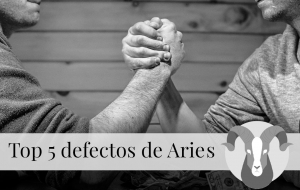 Top 5 defectos de Aries